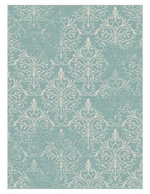 FLACHWEBETEPPICH  60/110 cm  Blau - Blau, Trend, Textil (60/110cm)