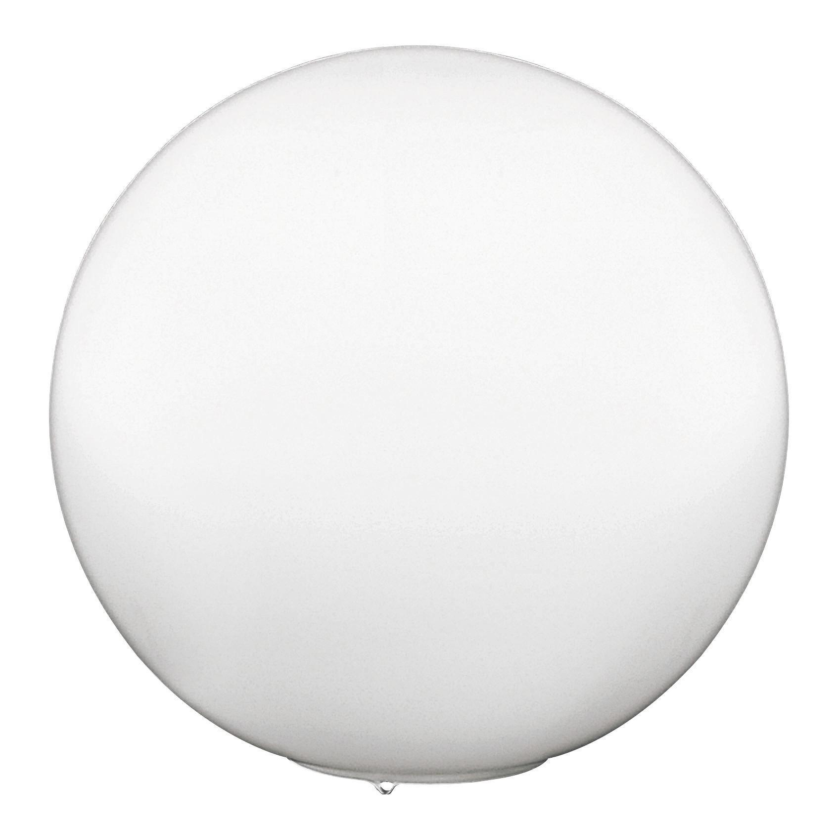 TISCHLEUCHTE - Weiß, LIFESTYLE, Glas (30cm)