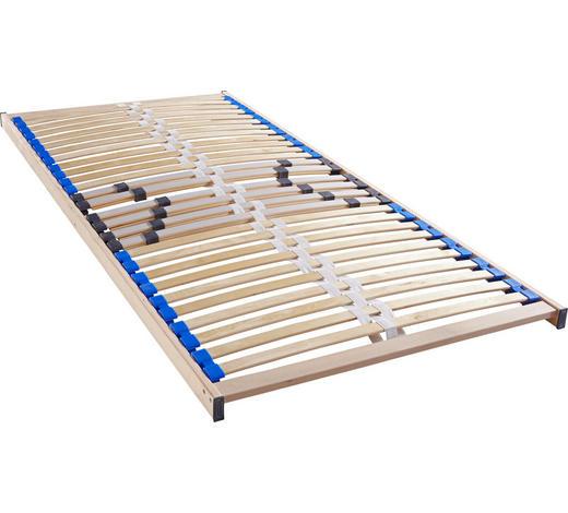 LATTENROST 90/200 cm  - Birkefarben, Basics, Holz (90/200cm) - Sleeptex