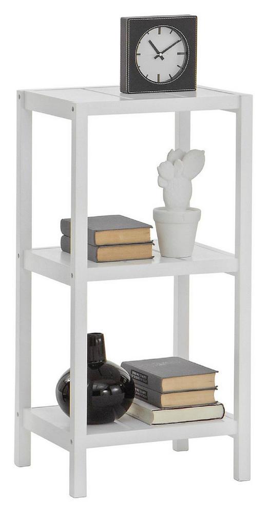 STANDREGAL Weiß - Weiß, Design (37/76/33cm) - Carryhome