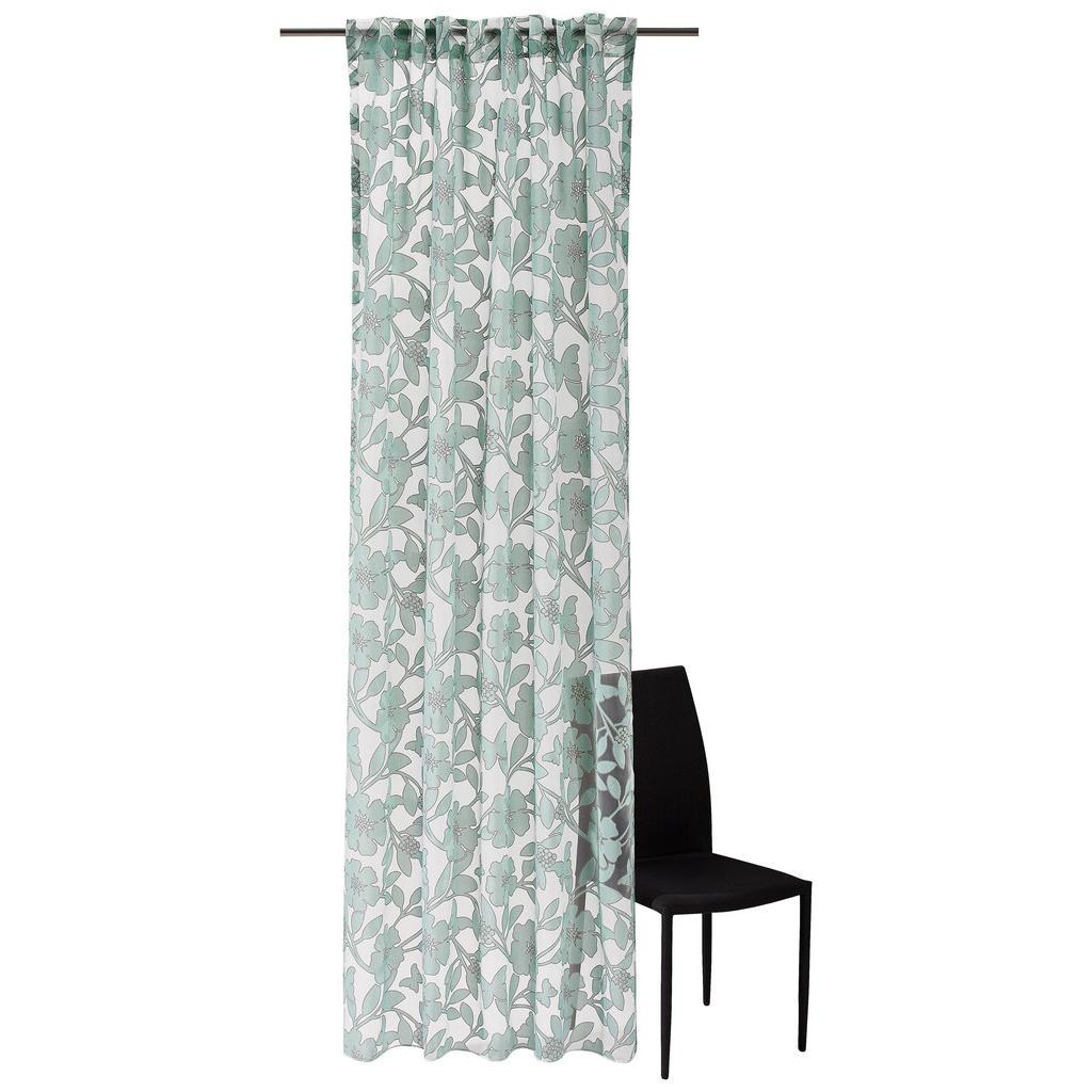 Vorhangschal mit floralem Muster