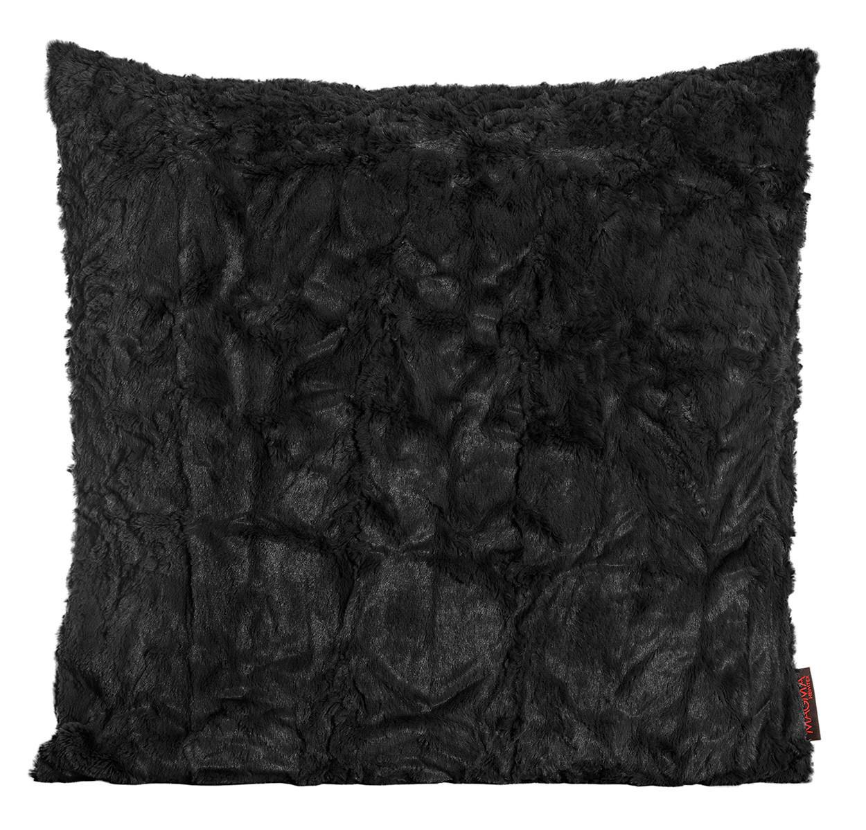 ZIERKISSEN 50/50 cm - Schwarz, Basics, Textil (50/50cm) - NOVEL