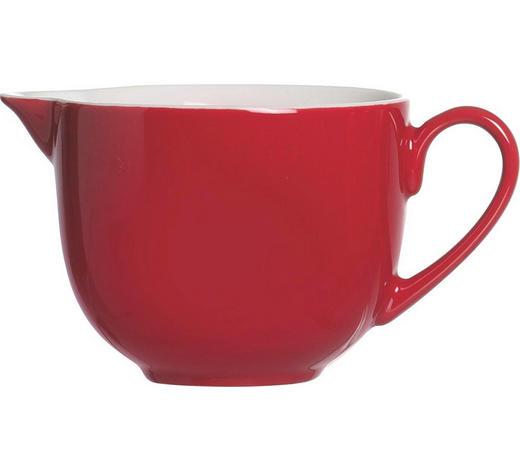 MILCHKÄNNCHEN - Rot/Weiß, Basics, Keramik (7cm) - Ritzenhoff Breker