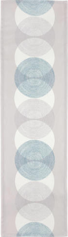 "UBRUS ""BĚHOUN"" NA STŮL - světle modrá, Design, textil (40/140cm) - NOVEL"