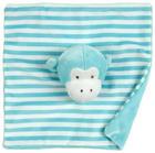 ŠÁTEK MAZLÍCÍ - modrá, Basics, textil (20/20cm) - My Baby Lou