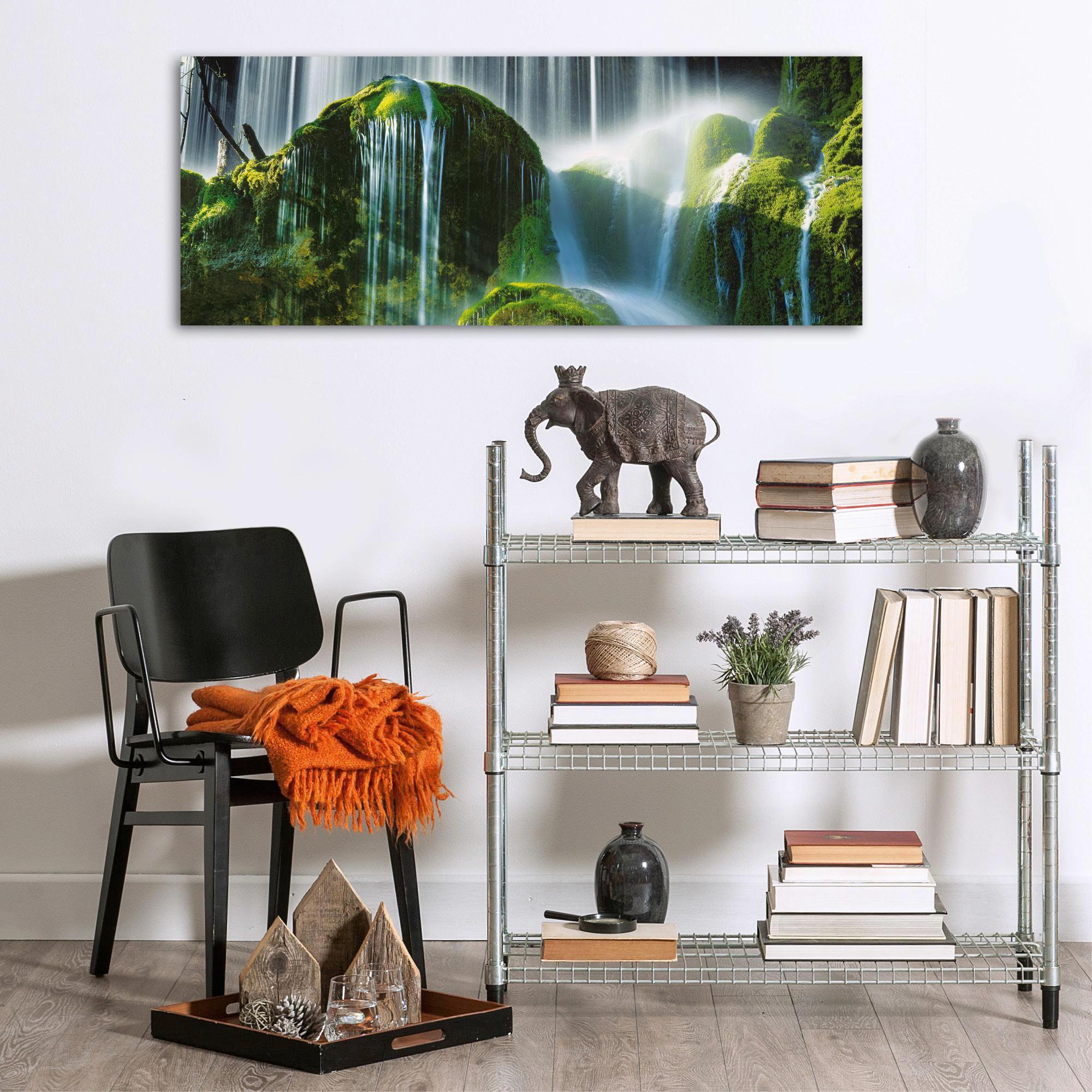 Landschaft & Natur, Wasser GLASBILD - Multicolor, Basics, Glas (50/125cm) - EUROGRAPHICS