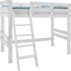 LOFTSÄNG - vit, Design, trä (205/165/100cm) - Carryhome