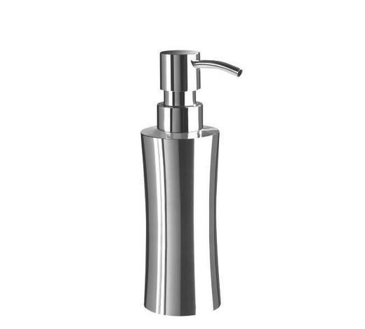 SEIFENSPENDER Metall - Edelstahlfarben, Basics, Metall (5,7/19cm) - Sadena