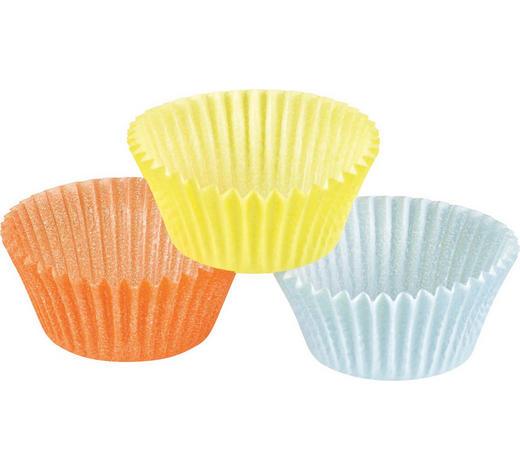 Papierförmchen 150 Stück - Gelb/Orange, Basics, Papier (4,5cm) - Kaiser