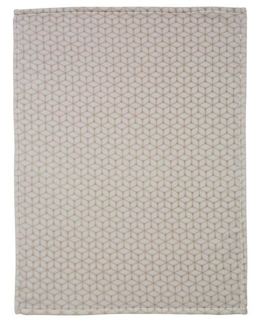 BABYDECKE - Taupe, Textil (75/100cm) - Alvi
