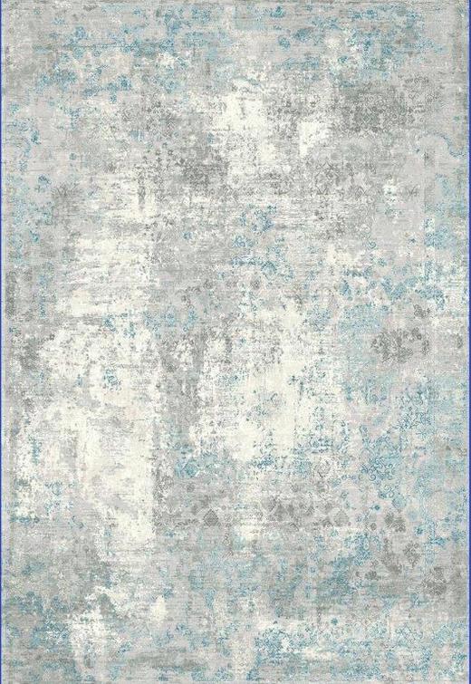 WEBTEPPICH  080/150 cm  Blau - Blau, Design, Textil (080/150cm) - Novel