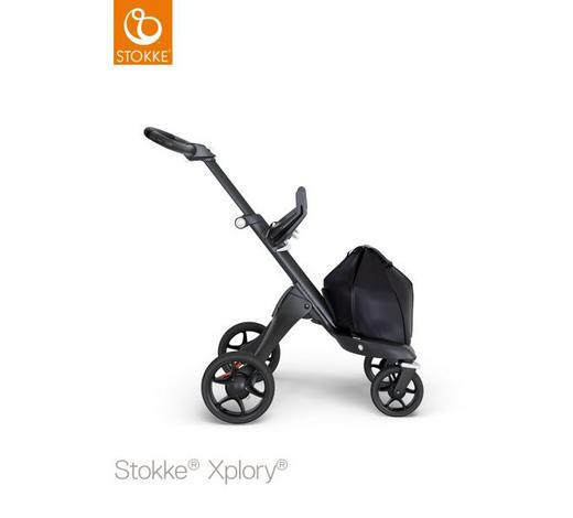 KINDERWAGENGESTELL Xplory V6  - Schwarz, Design, Metall (75-102/56,5/89-123cm) - Stokke