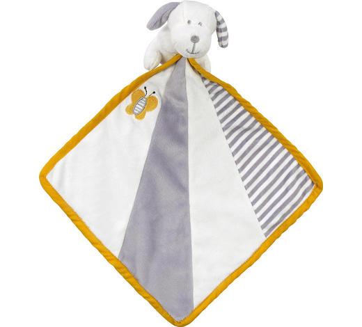 SCHMUSETUCH - Weiß/Grau, Basics, Textil (24/24cm) - My Baby Lou