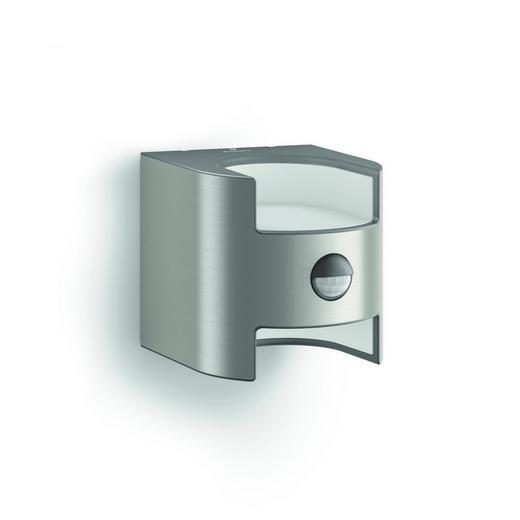 MYGARDEN LED-AUßENWANDLEUCHTE Edelstahlfarben - Edelstahlfarben, Design, Metall (12,83/12,79/15,65cm) - Philips