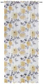 FERTIGVORHANG halbtransparent - Gelb, Trend, Textil (135/245cm) - Esposa