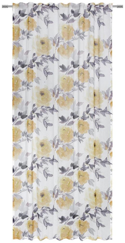 FERTIGVORHANG  halbtransparent  135/245 cm - Gelb, Trend, Textil (135/245cm) - Esposa