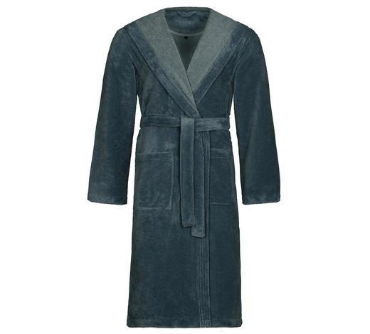 BADEMANTEL M  - Blau, Basics, Textil (Mnull) - Vossen