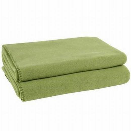 WOHNDECKE 160/200 cm Grün - Grün, Textil (160/200cm) - ZOEPPRITZ