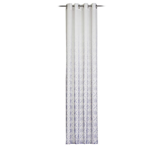 ÖSENSCHAL  halbtransparent   140/245 cm - Blau, Design, Textil (140/245cm) - Esposa