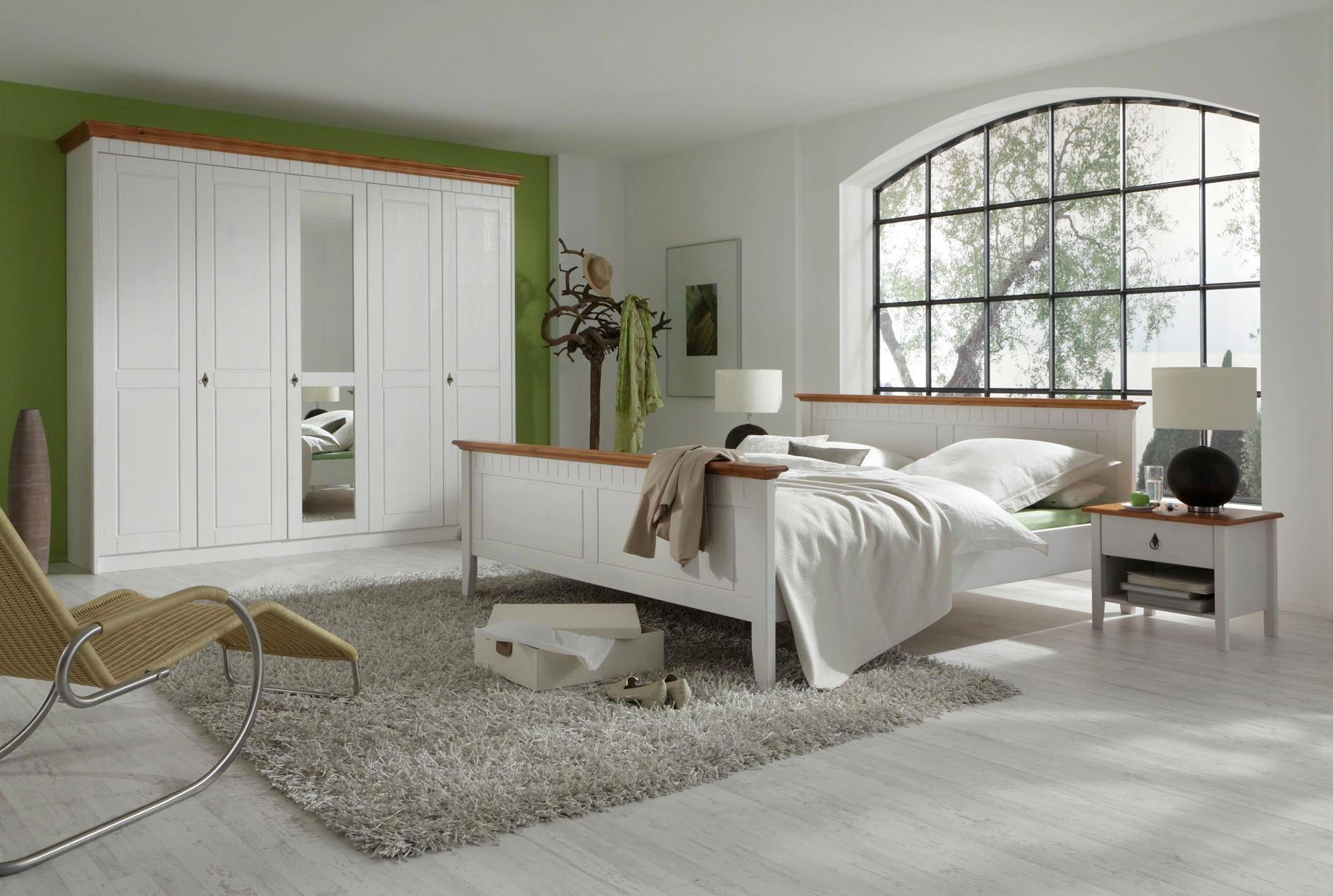 Schlafzimmer romantisch weiss  SCHLAFZIMMER in Honig, Weiß online kaufen ➤ XXXLutz