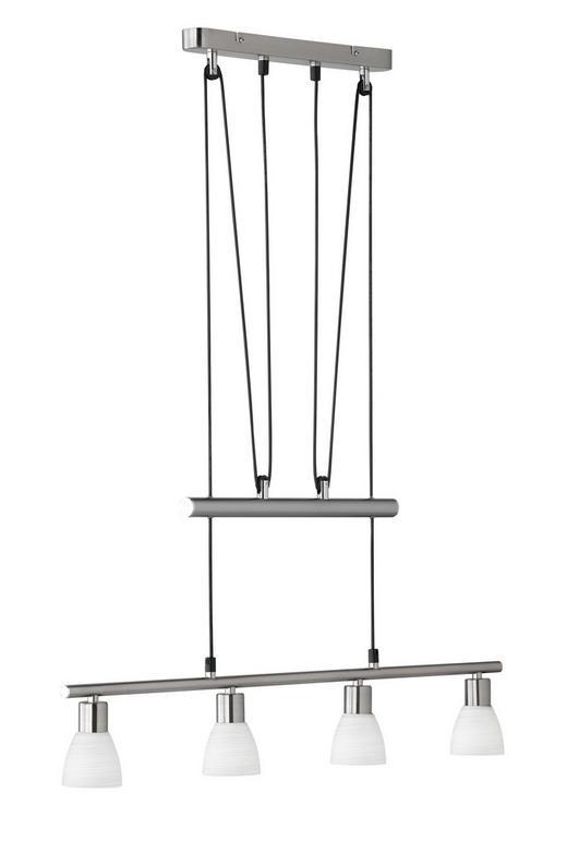 SVÍTIDLO ZÁVĚSNÉ - bílá/barvy niklu, Konvenční, kov (75/160/7cm)