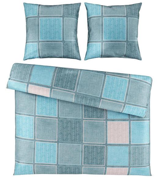BETTWÄSCHE Satin Türkis 200/200 cm - Türkis, Design, Textil (200/200cm) - Novel