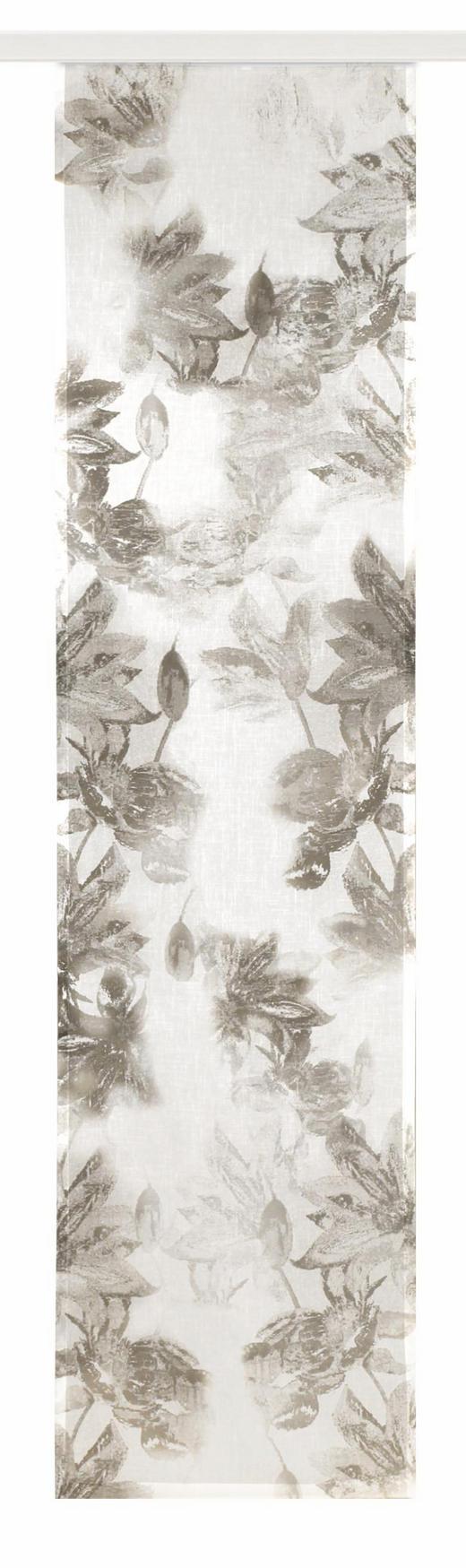 FLÄCHENVORHANG   halbtransparent - Taupe, Textil (60/245cm)