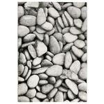 WEBTEPPICH  120/170 cm  Grau, Schwarz, Silberfarben   - Silberfarben/Schwarz, Design, Textil (120/170cm) - Novel