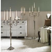 SVÍCEN - barvy niklu, Design, kov (25/34/25cm) - Ambia Home
