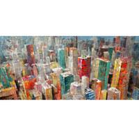 Städte ÖLGEMÄLDE - Multicolor/Naturfarben, Basics, Holz/Kunststoff (120/55cm) - Monee