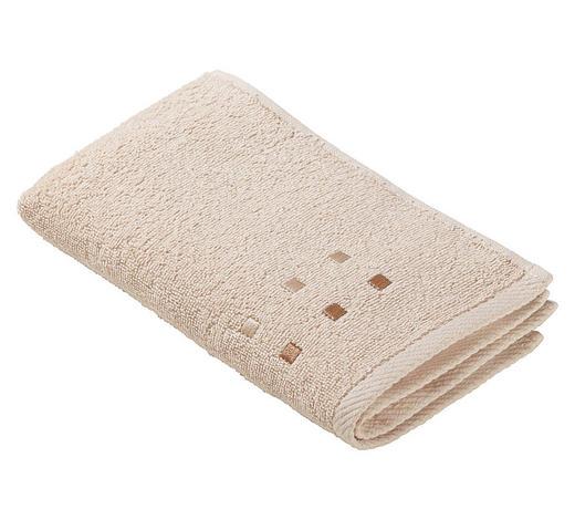 Gästetuch 30/50 cm  - Beige, Konventionell, Textil (30/50cm) - Esposa