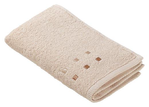 GÄSTHANDDUK - beige, Klassisk, textil (30/50cm) - ESPOSA