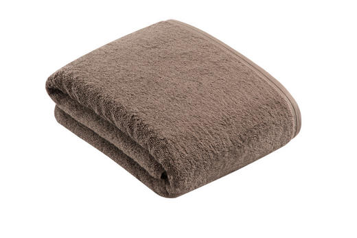BADETUCH - Grau, Basics, Textil (100/150/cm) - Vossen