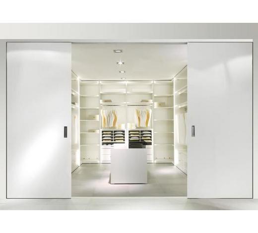 Systém skříní,  - šedá/bílá, Konvenční, dřevo/kompozitní dřevo - Hülsta
