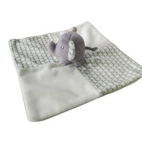 SNUTTEFILT - vit/ljusgrön, Basics, textil/plast (21/21cm) - Patinio
