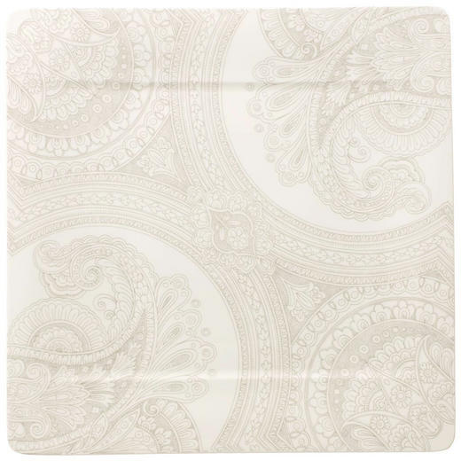 TELLER Keramik Bone China - Creme, Basics, Keramik (35/35cm) - Villeroy & Boch