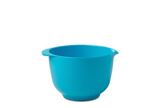 RÜHRSCHÜSSEL - Blau, Design, Kunststoff (22/18,4/13cm) - Mepal Rosti