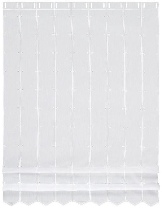 KURZGARDINE 145 cm - Weiß, KONVENTIONELL, Textil (145cm) - Esposa