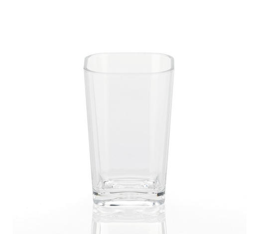 MUNDSPÜLBECHER - Transparent, Basics, Kunststoff (7,5/12/7,5cm) - Kela