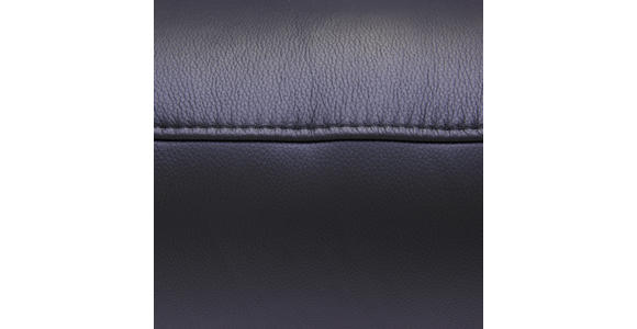 RELAXSESSEL in Leder Schwarz - Edelstahlfarben/Schwarz, Design, Leder/Metall (75/117/88cm) - Dieter Knoll