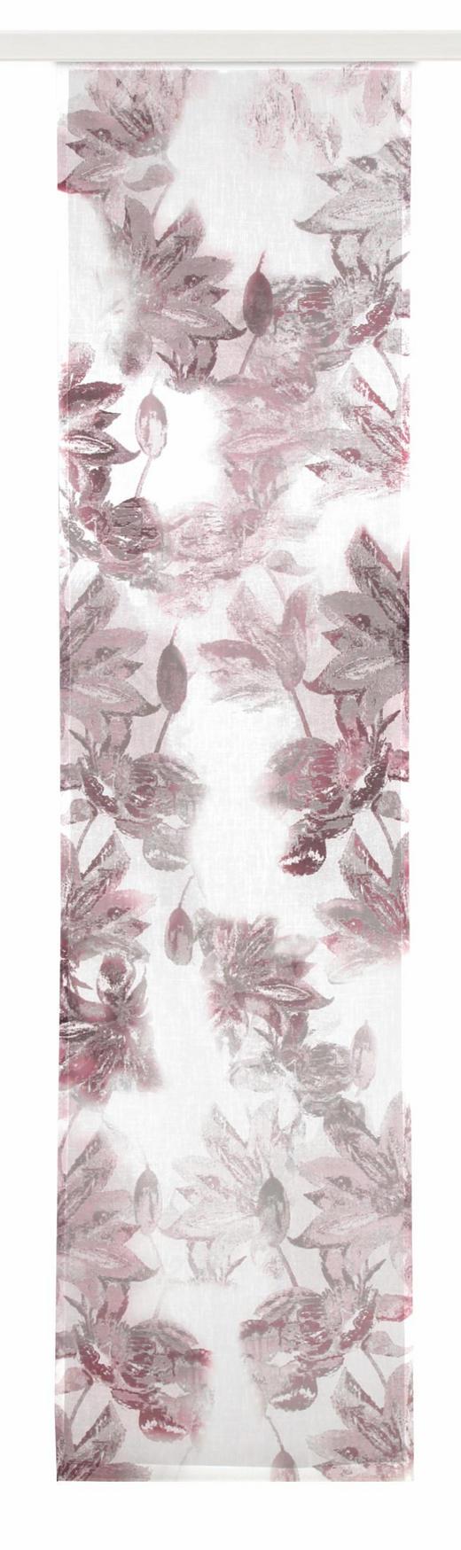 FLÄCHENVORHANG   halbtransparent   60/245 cm - Rot, Textil (60/245cm)