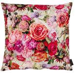 KISSENHÜLLE Multicolor, Rosa, Altrosa  - Multicolor/Altrosa, LIFESTYLE, Textil (49x49cm) - Landscape