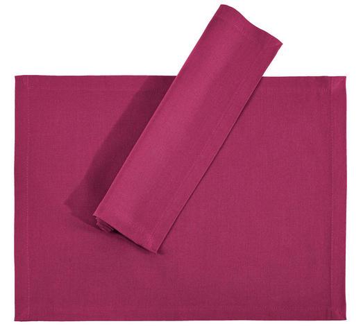 TISCHSET 33/45 cm Textil  - Lila, Basics, Textil (33/45cm) - Novel
