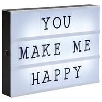LIGHTBOX 30x22 cm   - Weiß, Kunststoff (30/22/4cm)