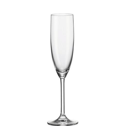 SEKTGLAS - Klar, KONVENTIONELL, Glas (7/24.5/7cm) - Leonardo