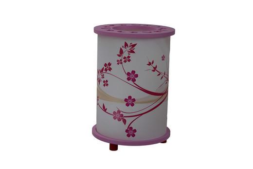 KINDERTISCHLEUCHTE - Pink/Rosa, KONVENTIONELL, Holz/Kunststoff (15/25cm)