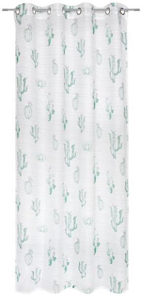 ÖLJETTLÄNGD - vit/grön, Klassisk, textil (135/245cm) - Esposa