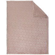 SCHMUSEDECKE 75/100 cm  - Rosa, Basics, Textil (75/100cm) - My Baby Lou