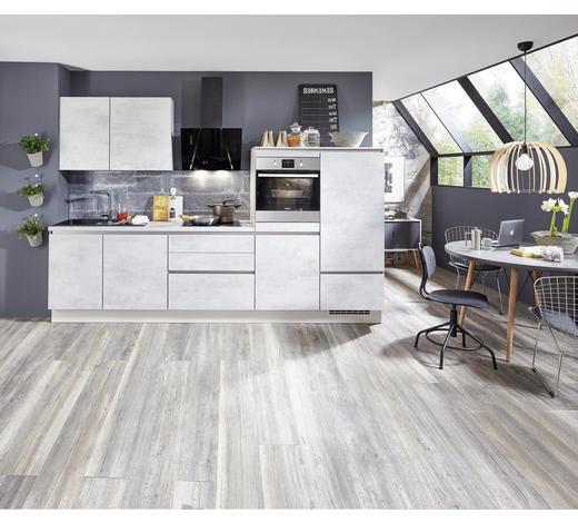 KUCHYŇSKÝ BLOK - světle šedá, Design, kompozitní dřevo (310cm) - Celina