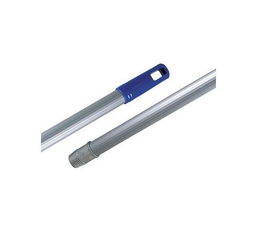 BESENSTIEL - Silberfarben, Basics, Metall (130cm)